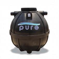 ถังบำบัดน้ำเสียเกรอะกรองรวมแบบไม่เติมอากาศ PE ขนาด 800 ลิตร